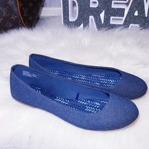 Shoes - New Shoes Flat Loafers Blue denim Slip ons 11
